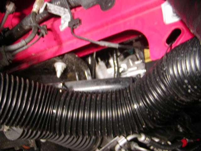 S front brake cooling ducts svtperformance